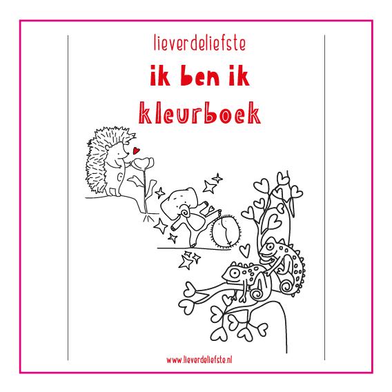 Lieverdeliefste - kleurboek